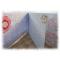 """Album photos  """"Joyeux anniversaire"""" multicolore fleuri bleu-vert-orangé"""