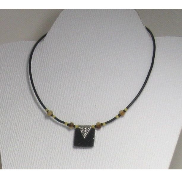 collier femme nature
