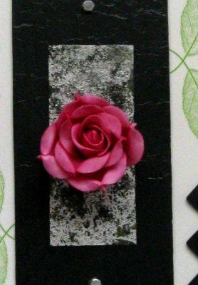 tableau tendance floral /rose et ardoise