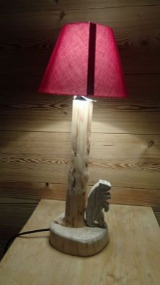 """Lampe """"ours"""""""