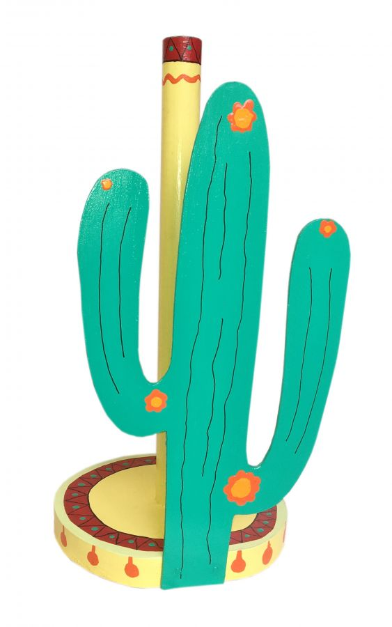 """""""Cactus"""" porte essuie-tout"""
