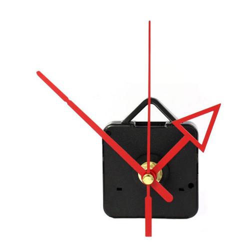 "Horloge en bois massif châtaignier et pin model  ""billard"""