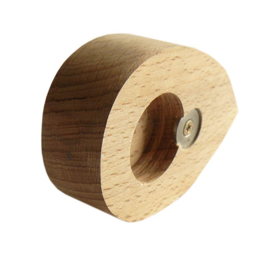 Ouvre bouteille / décapsuleur en bois de hêtre model : souris