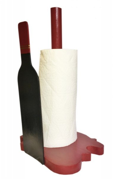 """""""Tache de vin"""" porte essuie-tout"""