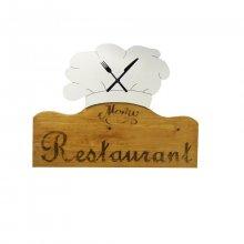 Horloge restaurant la  toque du chef sapin