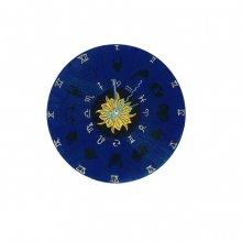 """Horloge murale en bois ronde model """"horoscope"""""""