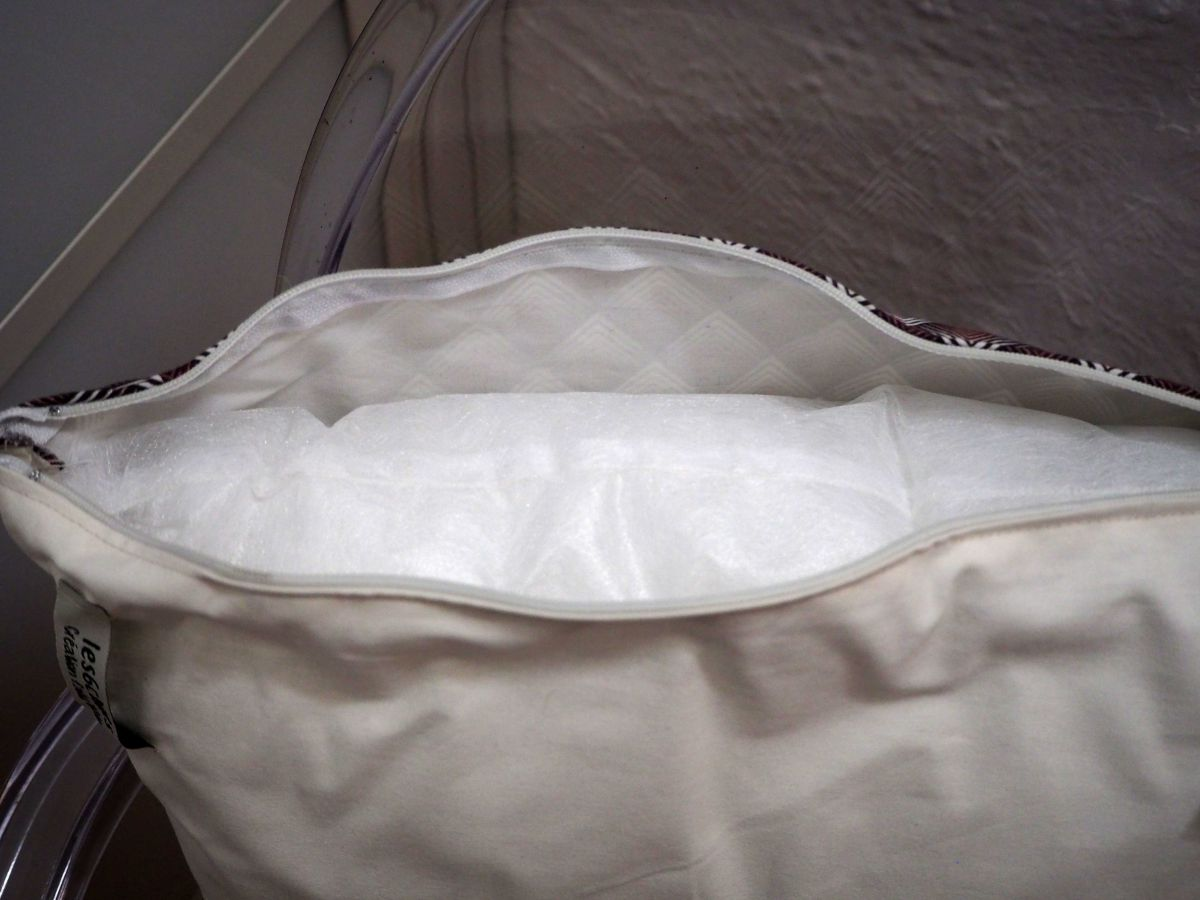HOUSSE de coussin 40x42cm, parisienne fond blanc