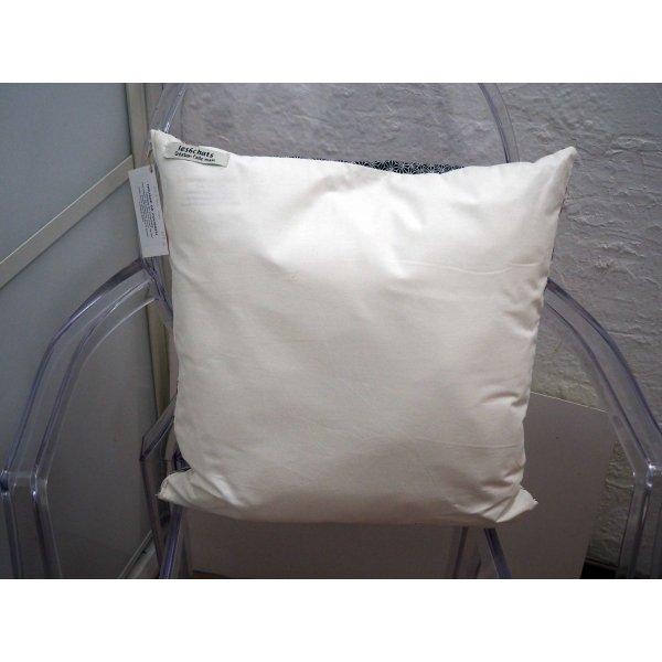 HOUSSE de coussin 42x43cm, parisienne fond blanc