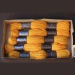 Echevette 8m  7742, ton brun, 100% pure laine Colbert DMC