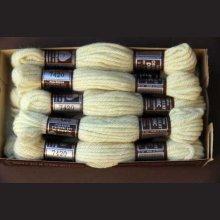 Echevette 8m   7420, ton beige ecru, 100% pure laine Colbert DMC