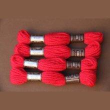 Echevette 8m n° 7640, ton rose vif, 100% pure laine Colbert DMC