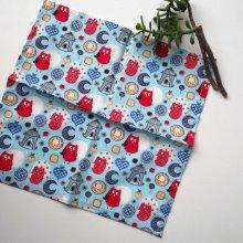 Petit mouchoir/serviette, coton , lavable, réutilisable, 27x27cm,