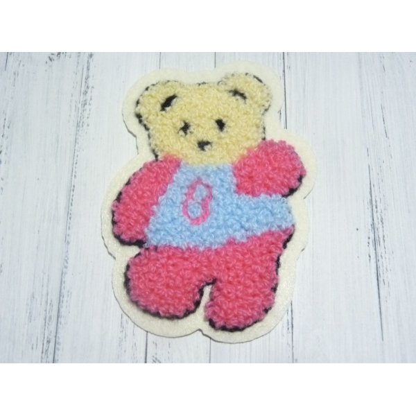 "APPLIQUE À COUDRE OU À COLLER ""OURS"""
