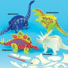 Puzzle dinosaure 3D : Triceratops
