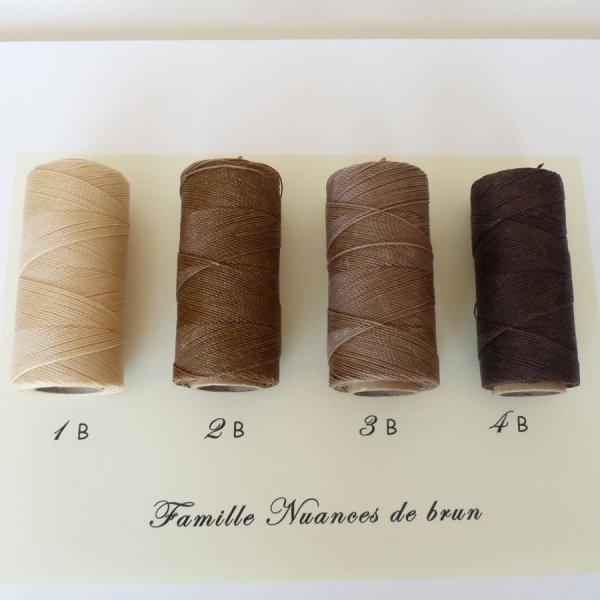 """Bijoux en micro-macramé à personnaliser  en """"Nuances de brun"""""""