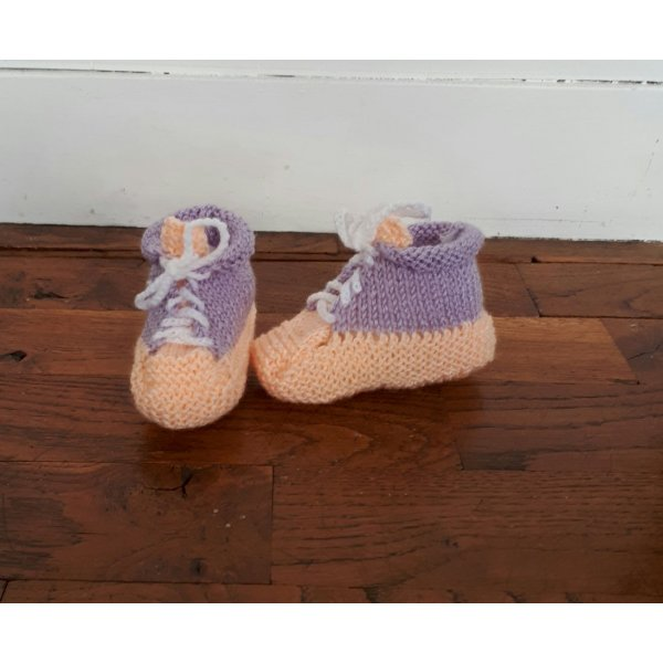 Chaussons basket 3/6 mois