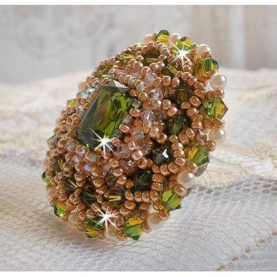 Bague Garden Party avec des cristaux de Swarovski