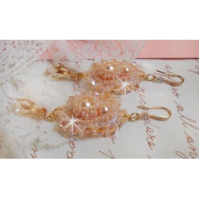BO Idylle Beauty avec des perles et rocailles.
