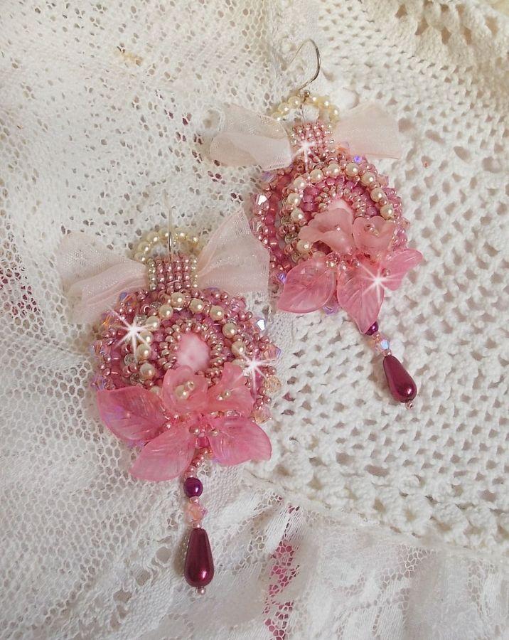 BO Magnolia avec de très belles perles