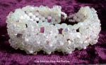 """Bracelet cristal """"Vénus"""", harmonie de cristal."""