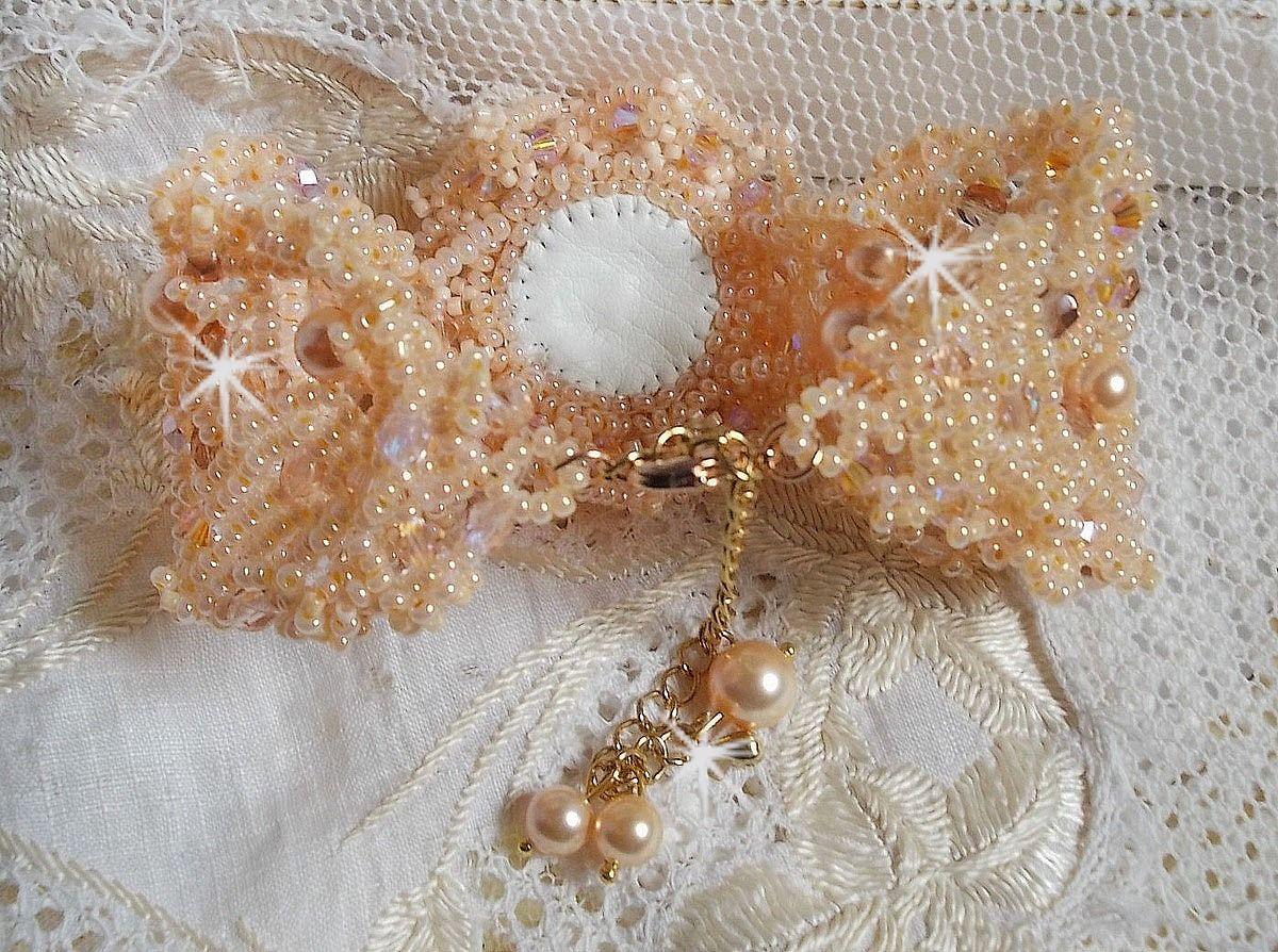 Bracelet Idylle Beauty aux perles nacrées et rocailles