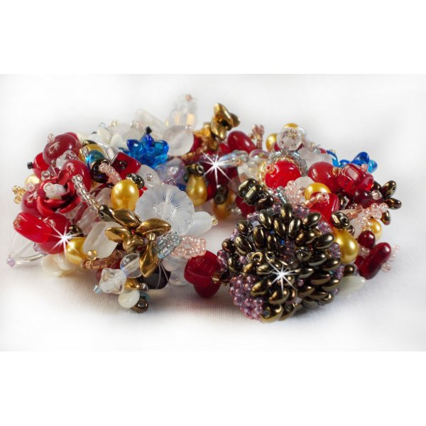 En Perles Bracelet Tourbillons Coloré' De 'printemps qSzMUGVp