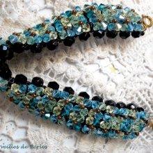 """Bracelet cristal """"Aurore"""" brillance assurée"""