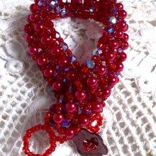 "Bracelet en perles ""Myrella"", perles en folies"