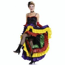 Patron robe french cancan burda