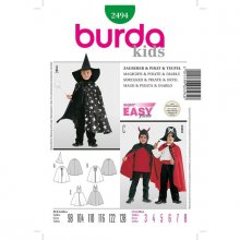 Patron enfant Burda cape