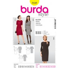 Patron robe Burda 36-54